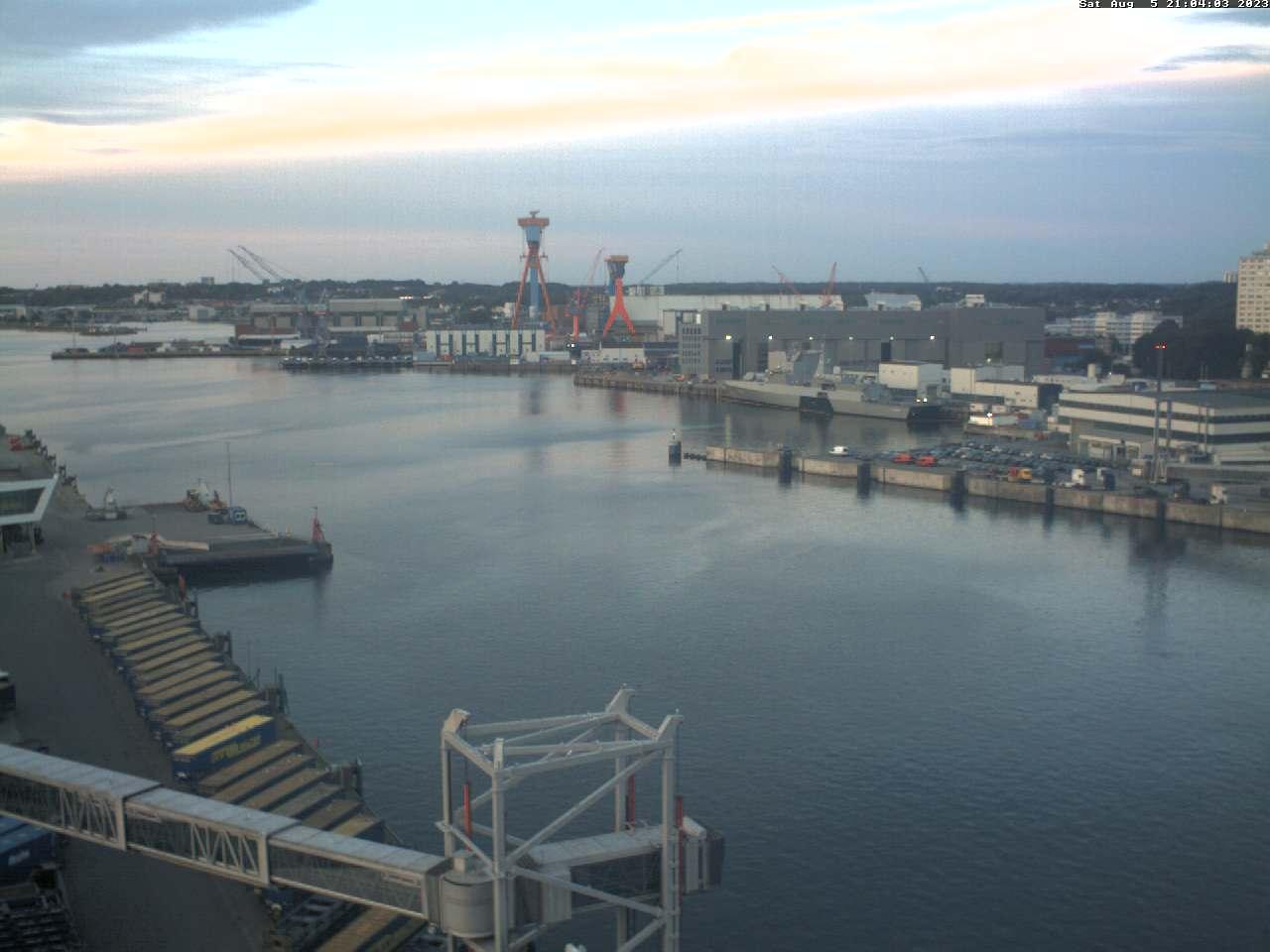 Hafen Kiel,  aktuelles Bild
